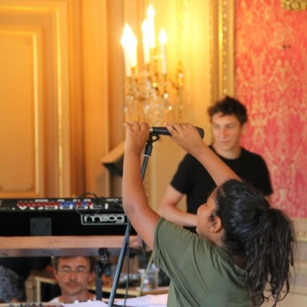 Atelier Musique avec Mathieu Andreau, Xavier Duprat et Théo Vialy ! ados, 10-12 juillet 2018